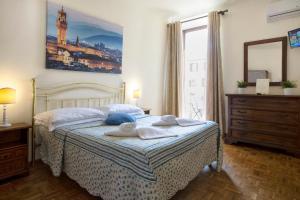 Cama ou camas em um quarto em Guesthouse Bel Duomo