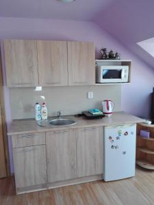 Кухня или мини-кухня в Ubytování Carmen