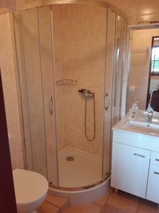 Ванная комната в Ubytování Carmen