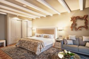 Cama o camas de una habitación en Hotel La Caminera Club de Campo