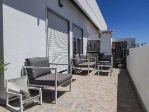 A balcony or terrace at Appartement plein centre du vieux Faro