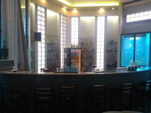 The lounge or bar area at Hotel St. Daniel