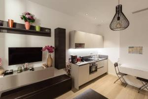 A kitchen or kitchenette at pastorelli