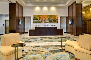 The lobby or reception area at The Grove Hotel