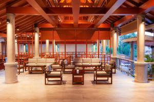 Lobbyen eller receptionen på Orchidacea Resort - SHA Plus