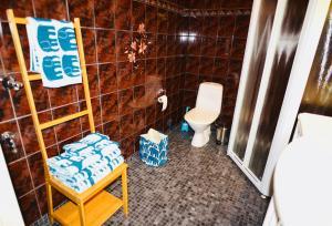 Kylpyhuone majoituspaikassa Apartment Diana Park