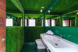 A bathroom at Pestana CR7 Funchal