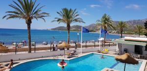 Вид на бассейн в Hotel Vistamar Costa Dorada или окрестностях
