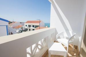 A balcony or terrace at Guarda Rios