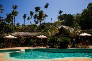 A piscina localizada em Anima Hotel ou nos arredores