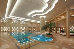 The swimming pool at or near Marriott Guangzhou Tianhe