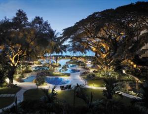 A view of the pool at Shangri-La Rasa Sayang, Penang or nearby