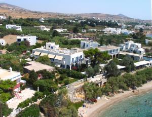 Vista aerea di Nissiotiko Hotel