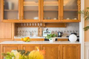 Enoca Hotel(エノカホテル)にあるキッチンまたは簡易キッチン
