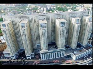Апартаменты City4us Fireplace Horosho с высоты птичьего полета