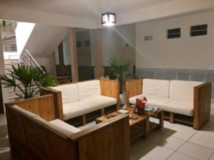 A seating area at Hotel Terra do Sal