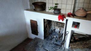 A kitchen or kitchenette at Antica Roccia