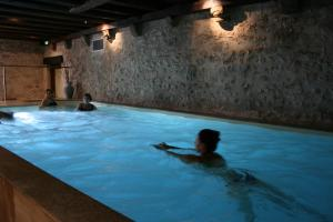 The swimming pool at or near La Cour du Bailli Suites & Spa
