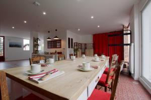 Restaurant ou autre lieu de restauration dans l'établissement Maison Iputxainia