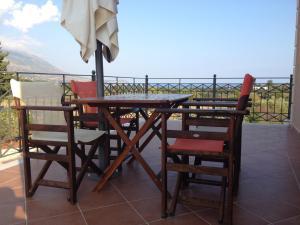 Μπαλκόνι ή βεράντα στο Korallis Villas