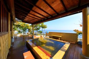 The swimming pool at or near Seaside Hotel Mimatsu Ooetei