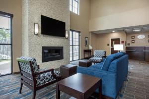 Prostor za sedenje u objektu Comfort Suites - South Austin