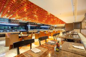 مطعم أو مكان آخر لتناول الطعام في جرايس لاند بانكوك من جرايس هوتيل