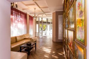 Гостиная зона в Отель Ростов 61