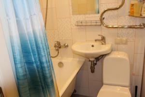 Ванная комната в Aurelia Hotel