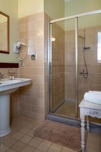 A bathroom at Hotel Boschetto