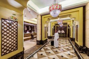 O saguão ou recepção de Boudl Mahayel Aseer