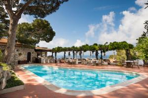 The swimming pool at or near Hotel Punta Tragara