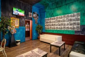 Lobby/Rezeption in der Unterkunft Best Spot Hostel