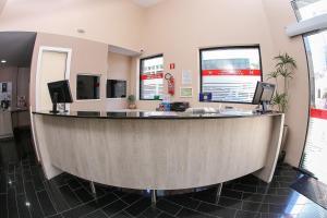 O saguão ou recepção de Hotel Express Centro Histórico