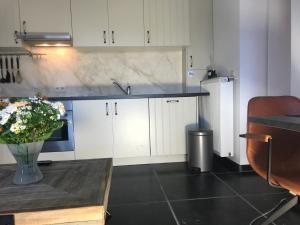 A kitchen or kitchenette at Het Kleinste Hof