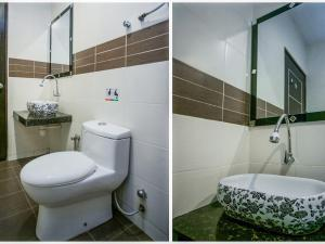 A bathroom at Sky Star Hotel KLIA/KLIA2