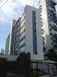 The building in which the apartment is located