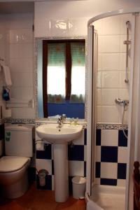 A bathroom at Akelarre Ostatua