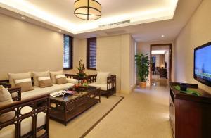 Лобби или стойка регистрации в Narada Resort & Spa Qixian Mount