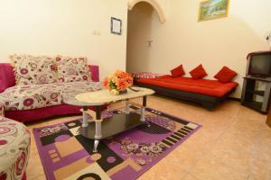 A seating area at Villa Amanah