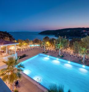 A view of the pool at Gava Waterman Milna Resort – All Inclusive or nearby