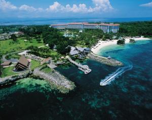 A bird's-eye view of Shangri-La Mactan, Cebu - Multiple Use Hotel