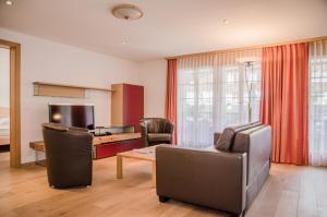 A seating area at Apartment Stotzhalten 3.5 - GriwaRent AG
