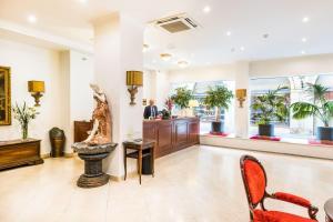 Hall o reception di Hotel Leon D´Oro