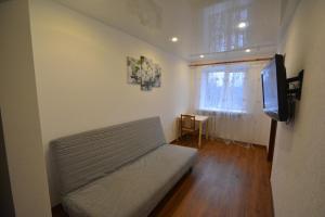 Гостиная зона в Apartment on Moskovskaya