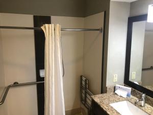 A bathroom at Best Western Airport Inn & Suites