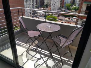 Un balcón o terraza en Altos de Barrio Martin