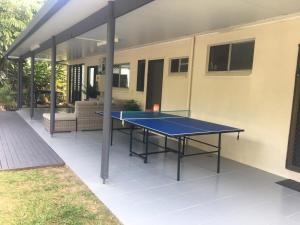 Ping-pong facilities at Tropical Private Open Space at Trinity or nearby