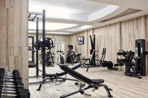 The fitness center and/or fitness facilities at Myconian Imperial - Leading Hotels of the World