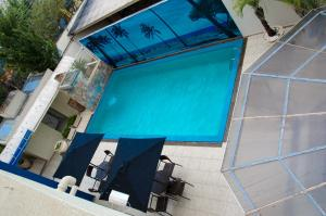 A view of the pool at Primum Palace Hotel or nearby